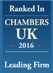 Chambers Directory - Leading Firm 2016